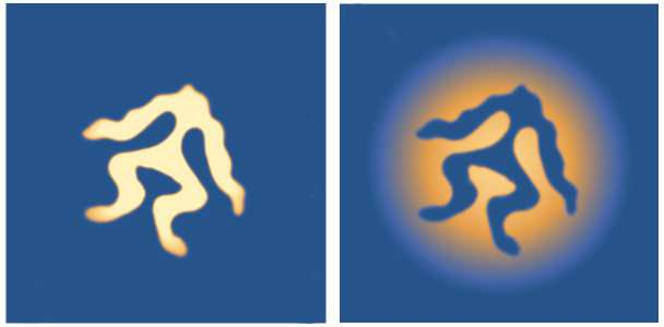 'Frogs' and 'mushrooms' bubble up in quantum fluids