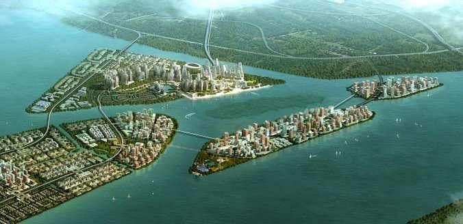 Future 'ocean cities' need green engineering above and below the waterline