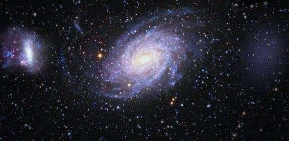 Mléčnou dráhu obíhá doposud neznámá velká, temná galaxie, astronomové takovou ještě neviděli