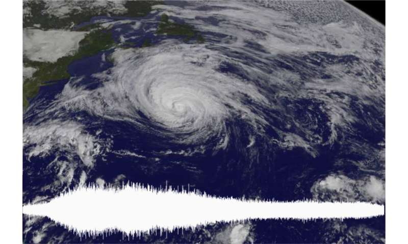 Geophysicists and atmospheric scientists partner to track typhoons' seismic footprints