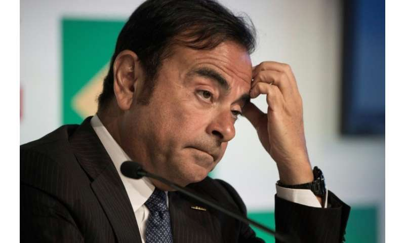 Going, going Ghosn: Nissan and Mitsubishi look set to oust charistmatic chairman Carlos Ghosn after his arrest for alleged finan