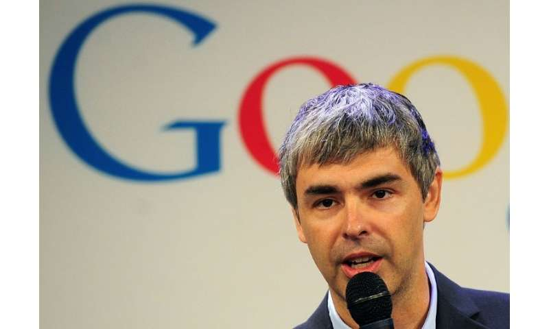 Google co-founder Larry Page, seen in 2012, is backing a self-piloted flying taxi project in New Zealand