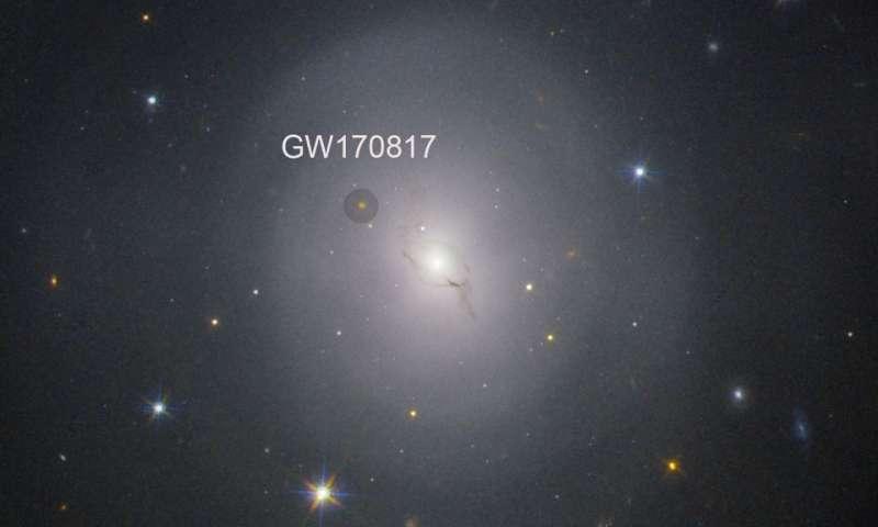 Gravitational waves measure the universe