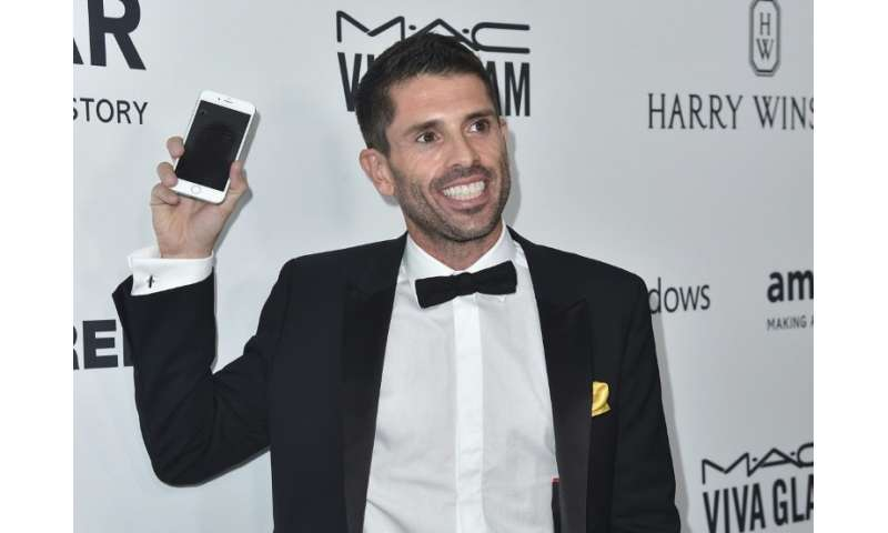 Grindr founder and CEO Joel Simkhai attends an event at Milk Studios in Hollywood, California, in October 2015