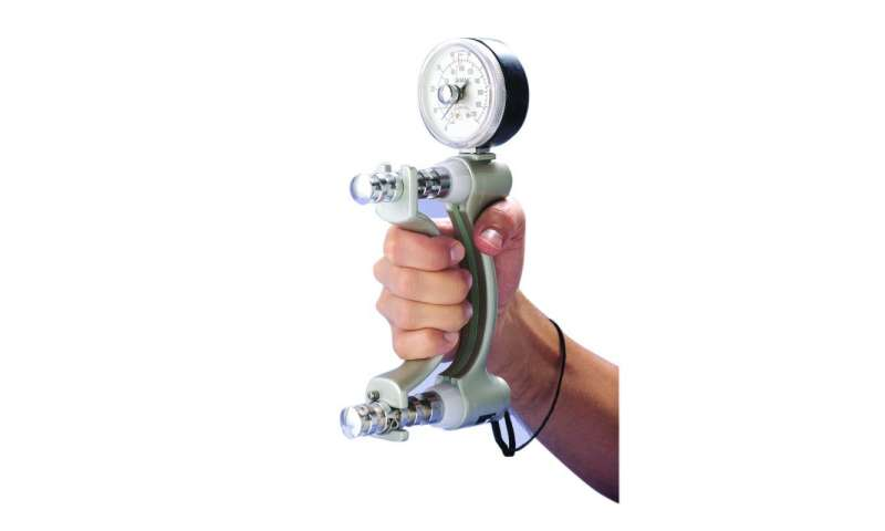 Handgrip strength test is good indicator of survival in lung cancer patients