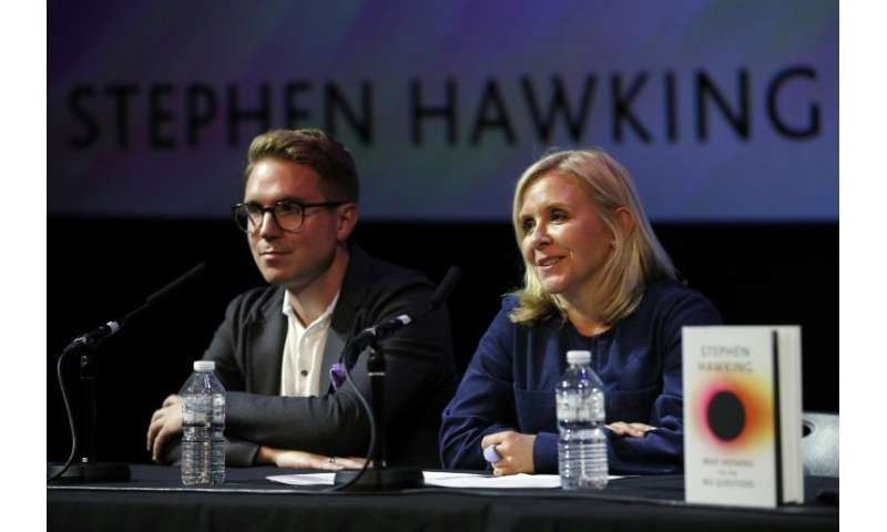 Hawking's daughter Lucy said the scientist was regularly asked a set of questions and the book was an attempt to answer them in