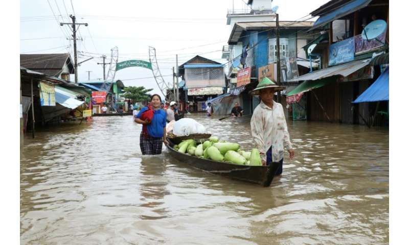 Heavy monsoon rains have pounded the southeast of the country and show no sign of abating, raising fears that the worst might be