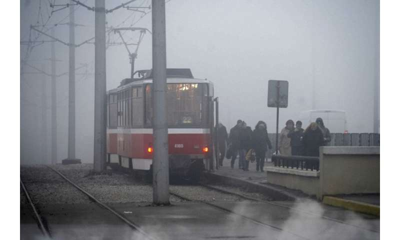 "Heavy smog shrouds Bulgarian commuters and the EU now wants to be ""carbon neutral"" by 2050"
