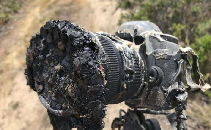 Here's what really happened with this camera, which melted during a rocket launch