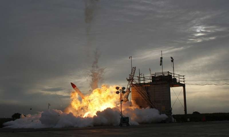 High-speed cameras show MOMO-2 launch failure in unprecedented detail