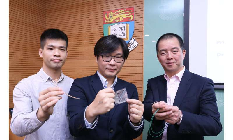 HKU develops an ultra-thin sensor that makes inflammation testing and curing 30 times faster