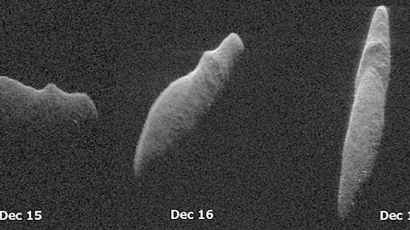 Holiday Asteroid Imaged with NASA Radar