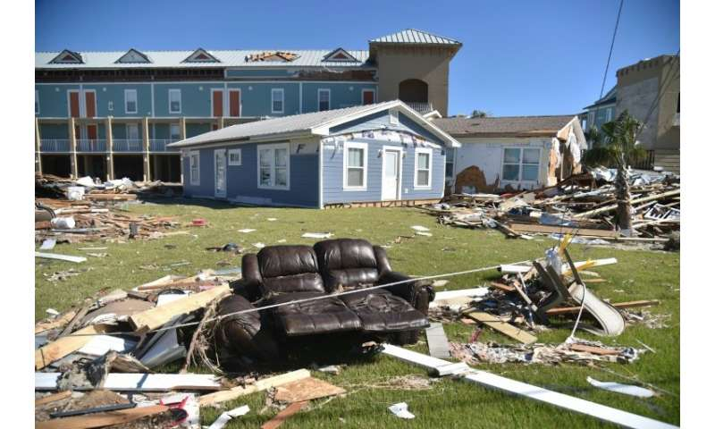 Houses were destroyed and some people in Mexico Beach returned to find they had nothing left