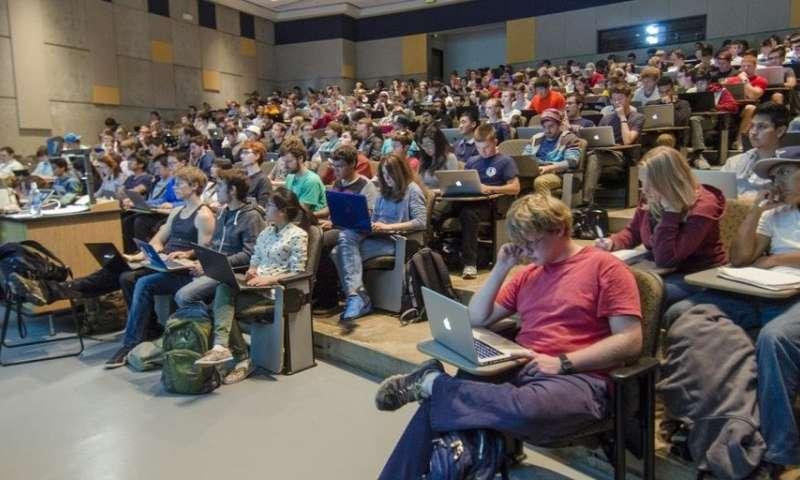How ideas go viral in academia