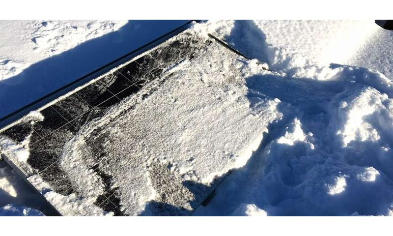 How well do solar cells really work in the Nordic climate?