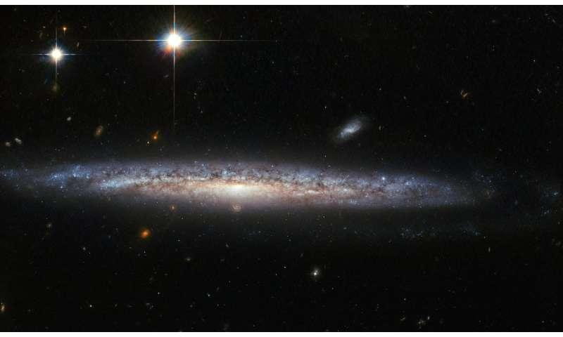 Hubble's curious case of a calcium-rich supernova Hubblescurio