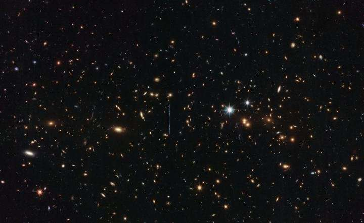 Hubble weighs in on mass of 3 million billion suns