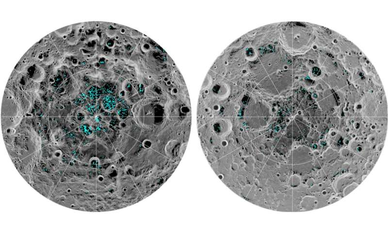 Ice Confirmed at the Moon's Poles