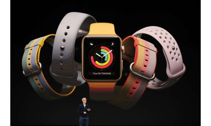 IDC analysts say Apple sold eight million smartwatches in the final three months of the year following the release of its Apple