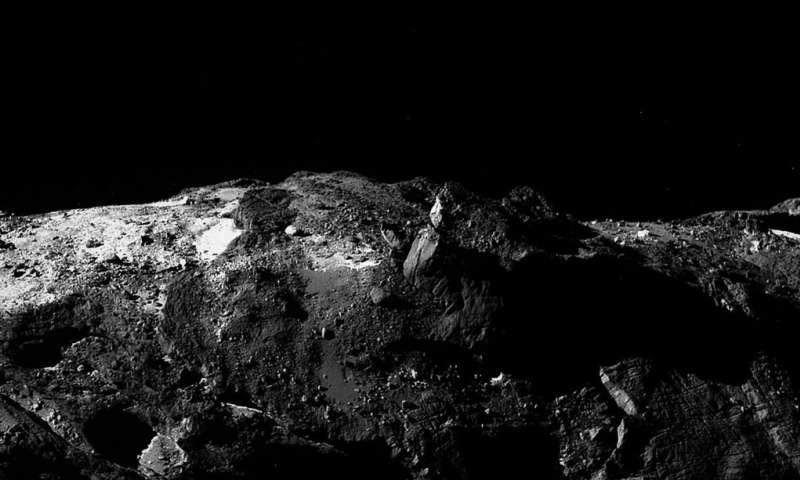 Image: Comet 67P/Churyumov-Gerasimenko horizon
