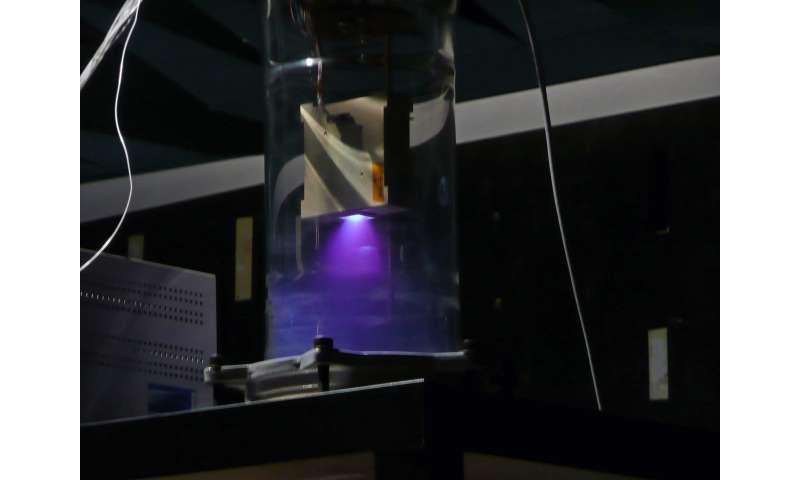 Image: CubeSat micro-pulsed plasma thruster