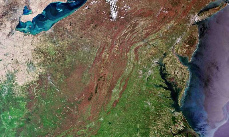 Image: Eastern U.S.