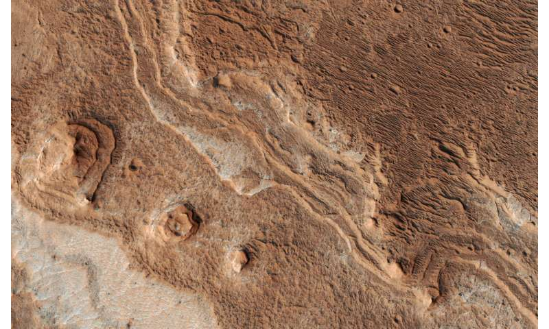 Image: Eroded Layers in Shalbatana Valles