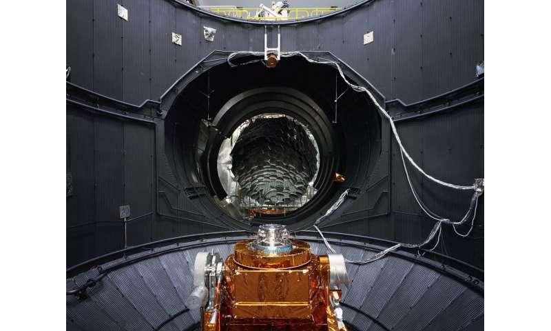 Image: ESA's Large Space Simulator