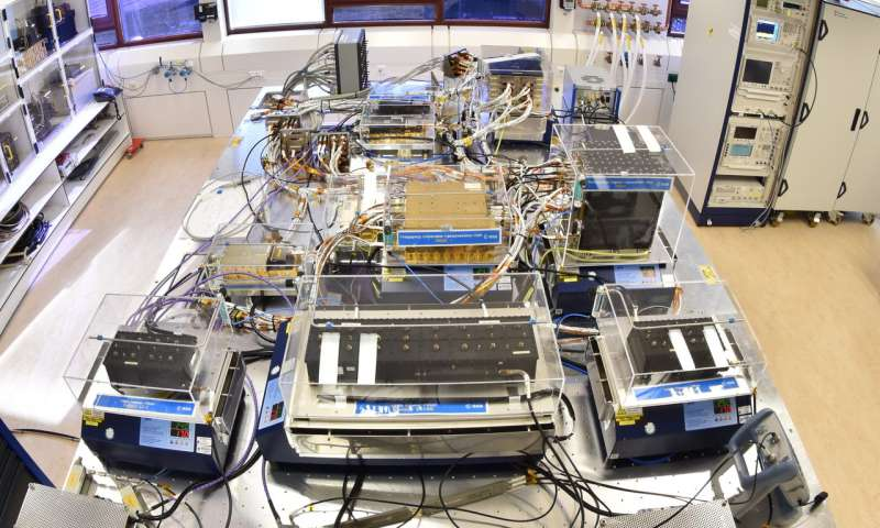Image: ESTEC's new Galileo Payload Laboratory