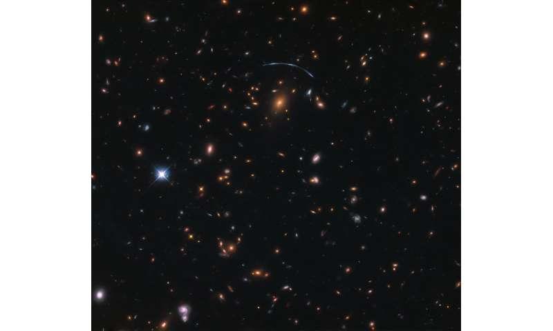 Image: Hubble hooks a cosmic jellyfish