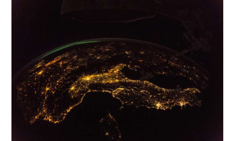 Image: Mapping the night