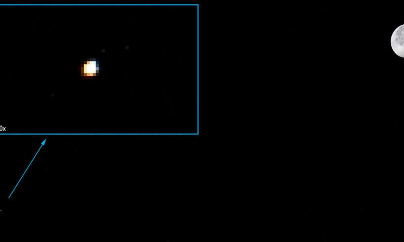 Image: Moon, Mars, Station