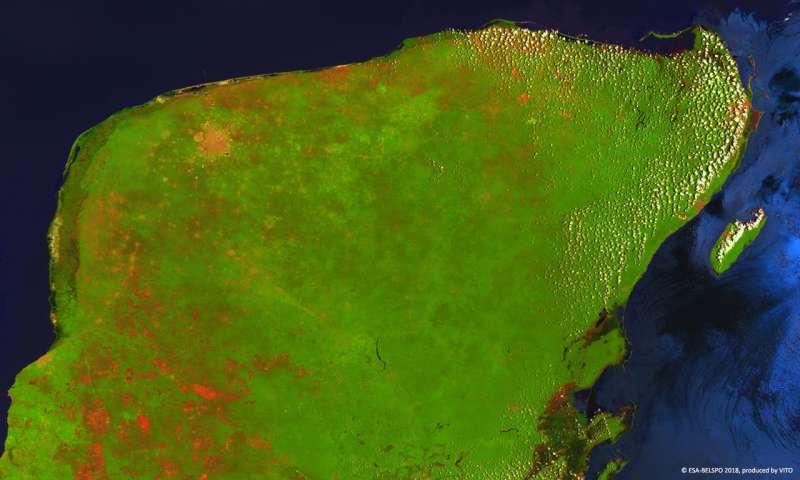 Image: Proba-V images the Yucatán peninsula