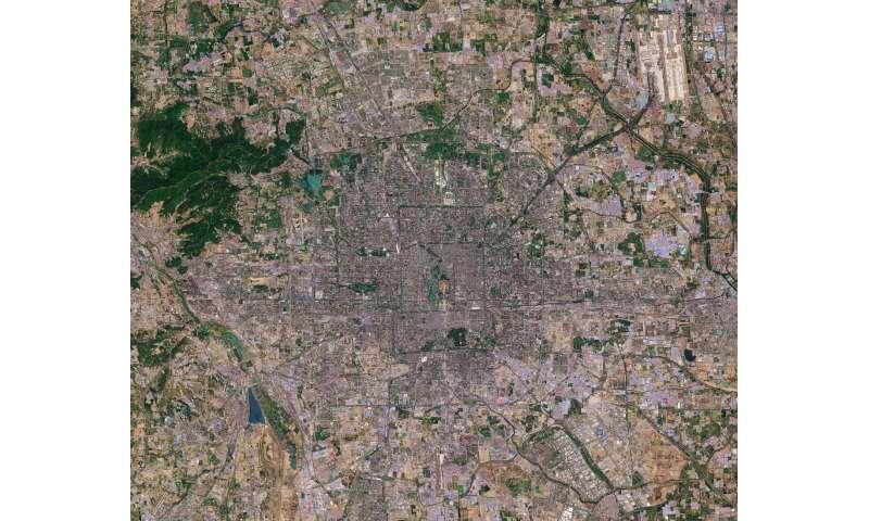 Image: Sentinel-2 captures Beijing