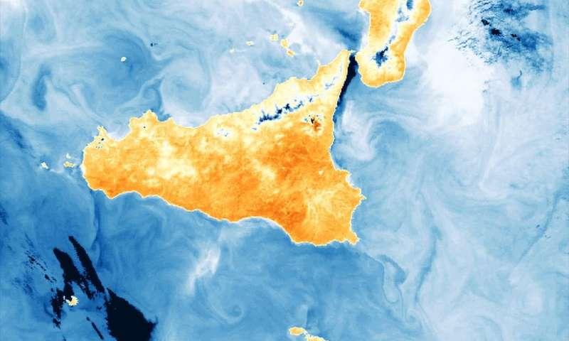 Image: Sicily hotspot