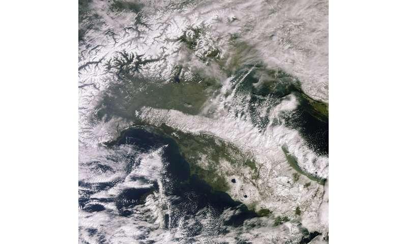 Image: Snowbound Italy