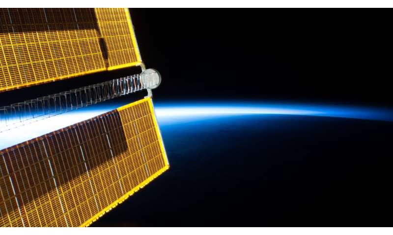 Image: Soaring into an orbital sunrise