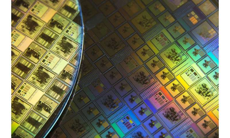 Image: Space chips etched in silicon