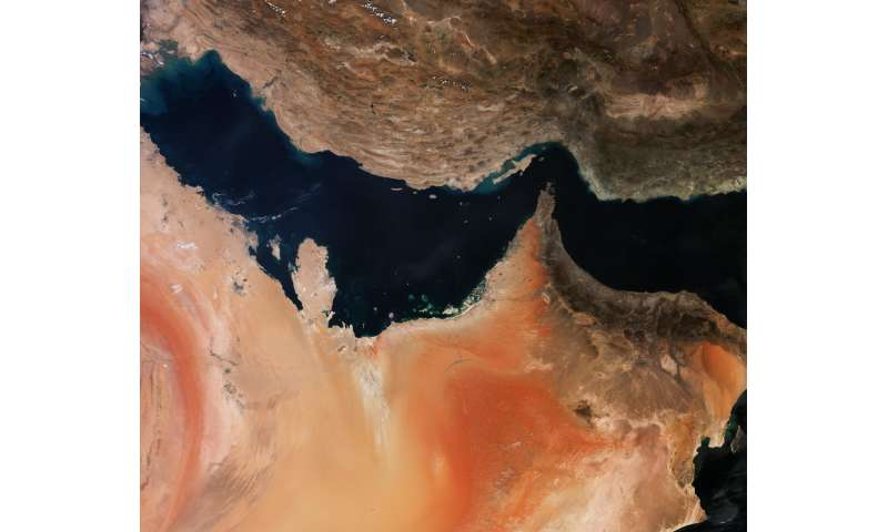 Image: The Persian Gulf