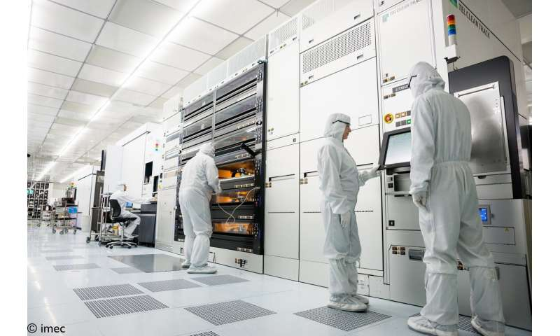 Imec reports for the first time direct growth of 2-D materials on 300mm wafers