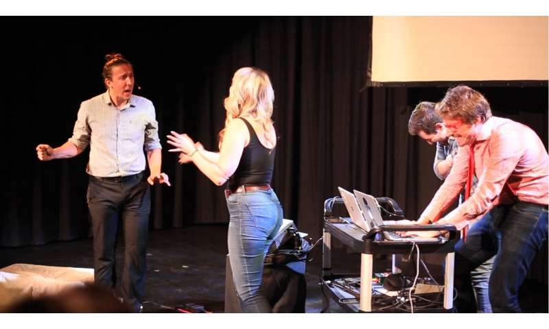 **Improbotics: bringing machine intelligence into improvised theatre