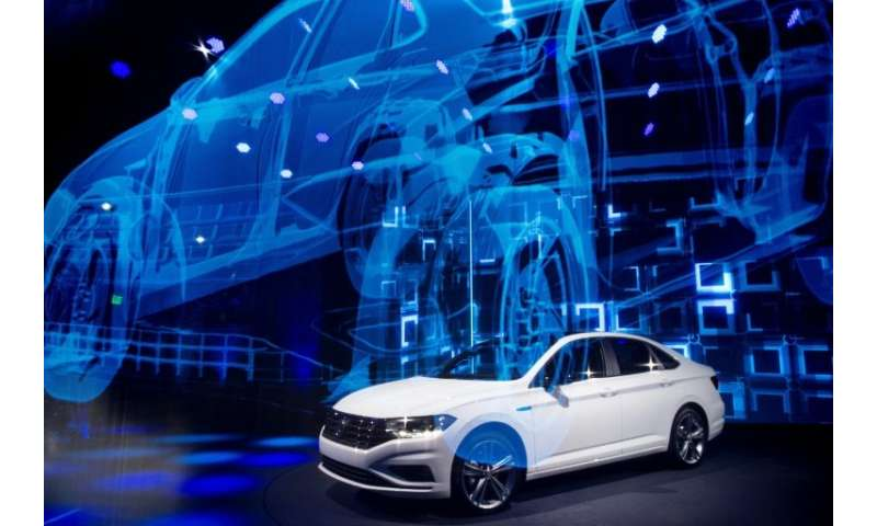 In a break from most of the big launches at the Detroit auto show, Volkswagen highlighted its Jetta sedan