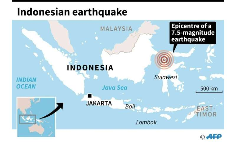 Indonesian earthquake