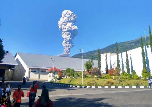 Indonesia's most active volcano erupts, spews ash into sky