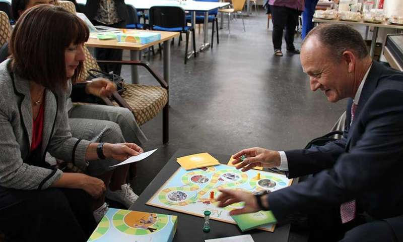 Innovative board game to tackle malnutrition among older people