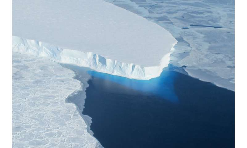 Interacting Antarctic glaciers may cause faster melt and sea level contributions