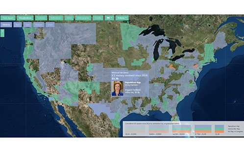 Interactive research map reveals multi-billion-dollar U.S Immigration Industry