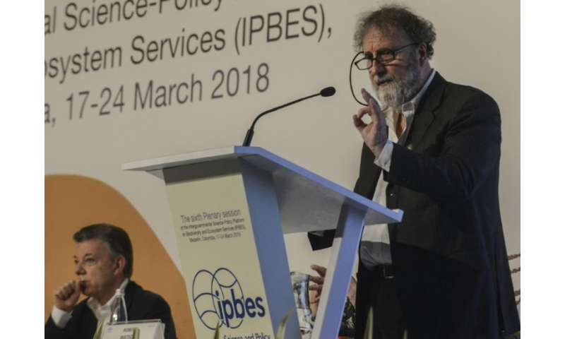 IPBES President Robert Watson said land degradation will force a mass migration of at least 50 million people by 2050