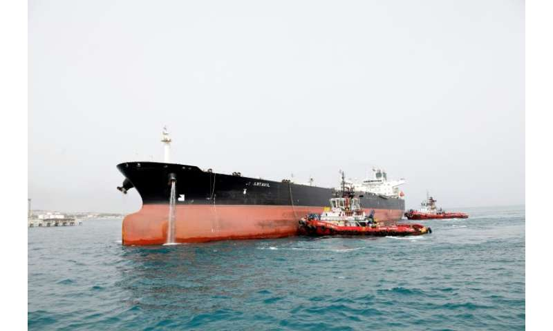 Iranian oil tankers may become an increasingly rare sight as US sanctions loom
