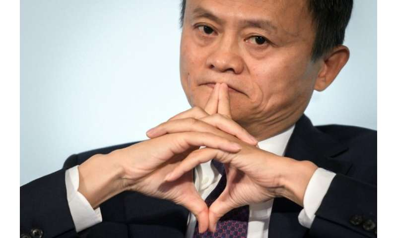 Jack Ma's membership of China's Communist Party had not been known until now as China's richest man had previously suggested tha